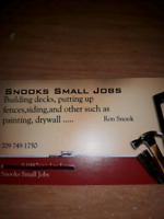 Snook's Small Jobs