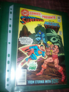 DC Comics Presents #47 Superman and Masters of the Universe 1st