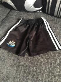 NUFC shorts small 6/7