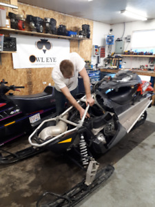 Small Engine Repair - Sleds, Snowmobiles