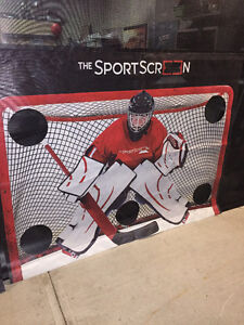 The Sport Screen - shooting target - SAVE YOUR GARAGE DOOR!