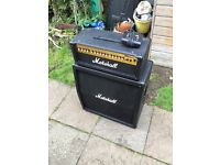 Marshall MG100HDFX Half Stack Amplifier with pedal OPEN TO OFFERS