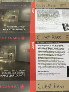 Aircanada maple lounge passes $40