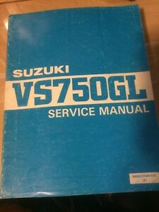 1985 Suzuki Intruder VS750GL Service Manual