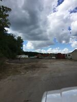Stoufville outside storage yard for rent