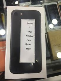 IPHONE 7 128GB BRAND NEW SEALED UNLOCKED