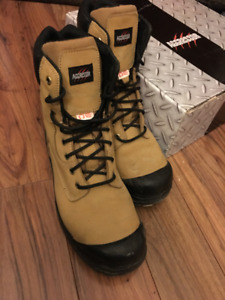 AGGRESSOR (8'') - Steel Toe Steel Plate Work Boots (Barely Used)