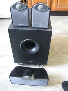 Tannoy SFX 5.1 600 watts Speaker System with powered subwoofer