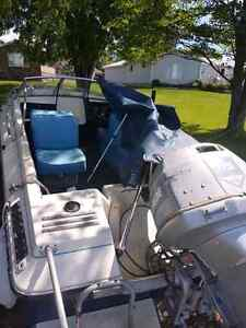 18 ft, 115 horsepower boat incl Rail system and cover Peterborough Peterborough Area image 9