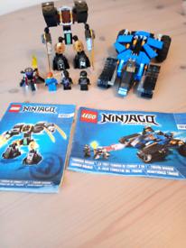 Lego Ninjago thunder raider 70723