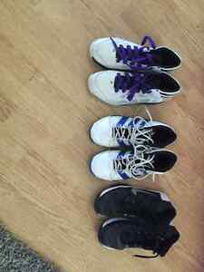 Youth basket ball shoes  size 6 , 7 , 8