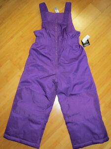 "NEW!  Girls ""George"" Snowpants - Size 3"