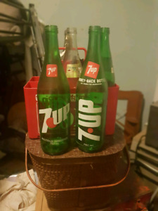 Bouteilles de collection 7Up
