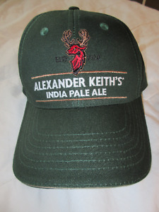 New hats:  Alexander Keith`s India Pale Ale / Mustang