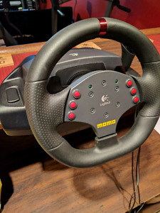 Logitech Momo Force Racing Wheel Set