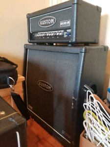 Kustom QUAD JR Half Stack Guitar Amplifier