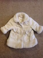 3-6 month White Children's Place coat