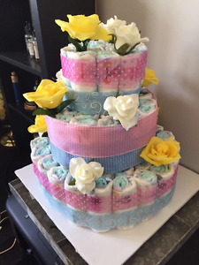 A Baby Shower gift ( Diaper cake)