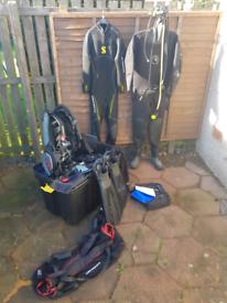 Dive kit including Sunnto Eon Core Dive Computer