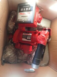 Fill-Rite 115 Volt 20 GPM Transfer Pump with Guage Hose Auto Noz