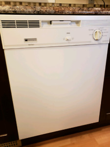 """White-Westinghouse 24"""" wide Dishwasher in white"""