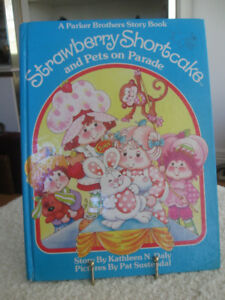 PARKER BROS.EXCITING VINTAGE ['83] CHILD'S BEDTIME STORY BOOK
