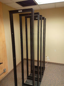 APC 45 unit two-post racks