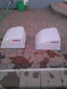 Trailer Roof Vent Covers