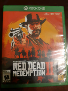 Red dead redemption 2 xbox one 50 obo