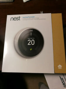 Nest Learning Thermostat BRAND NEW!