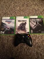 3 games and controller package