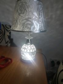 2x bling lamps