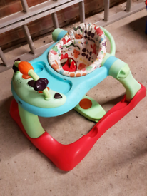 Mamas and papas 3 in 1 roll up roll up walker.
