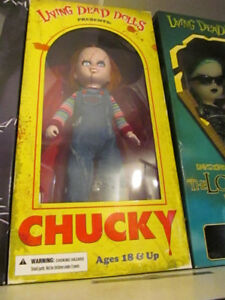 Selling Living Dead Dolls Chucky, Beetle Juice, White Rabbit