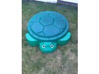 Little Tikes Turtle Children's / Kids Sand Pit IMMACULATE CONDITION