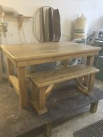 Hand crafted Harvest tables