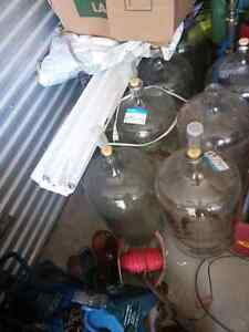 Wine carboys/demijohn bottle