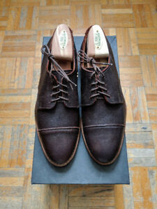 Allen Edmonds Brown Oak Street Cap-toe Oxford 6.5E
