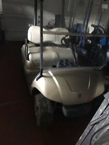 Solid golf cart