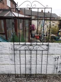 Wrought Iron Gate / Garden Gate / Metal Gate / Side Gate / Entry Gate
