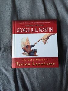 Game of thrones Wit and wisdom of Tyrion Lannister book.