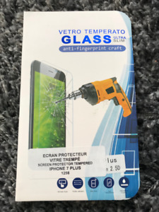 vitre protectrice iphone 7 plus+
