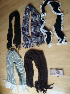 5 Assorted Womens Scarfs Plus 1Jewelled Headband -All for $15 Kitchener / Waterloo Kitchener Area image 4