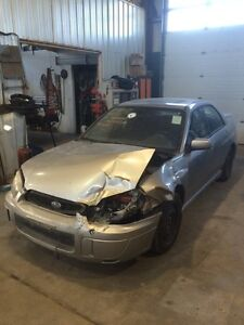 Parting out 05 Subaru Impreza rs