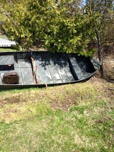 14ft aluminum used as a hunting boat does not leak