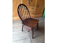Ercol Chair With Integrated Drawer