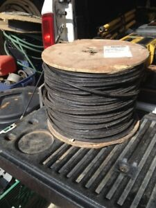 1000 ft Co-Axial Cable with & w/out steel cable