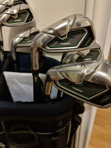 LH Taylormade Rocketballz Iron Set + wedges + bag