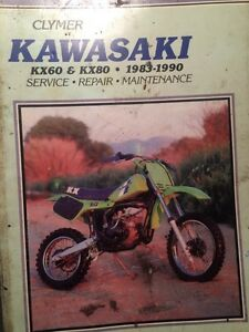 1983-1990 Kawasaki KX60 KX80 Service Repair Manual