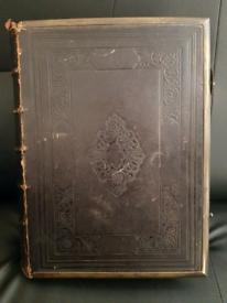 Holly Bible Household Commentary Henry & Scott 500 Engravings 1860